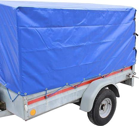 For 2575x1345 PKW Anhänger Abdeckplane Anhängerplane Gummiseil Flachplane