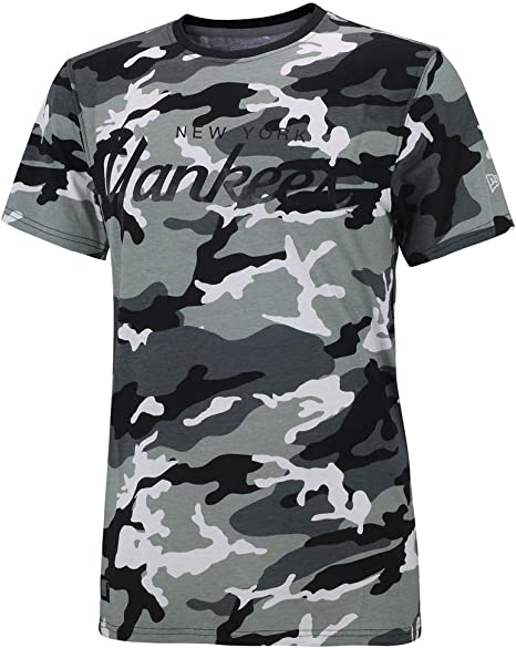 Camiseta New Era – MLB Team App New York Yankees gris/multi talla: S (Small): Amazon.es: Deportes y aire libre