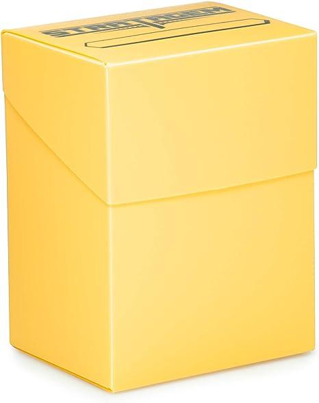 Caja de cartas Stratagem The Big Box con separador, color marfil ...