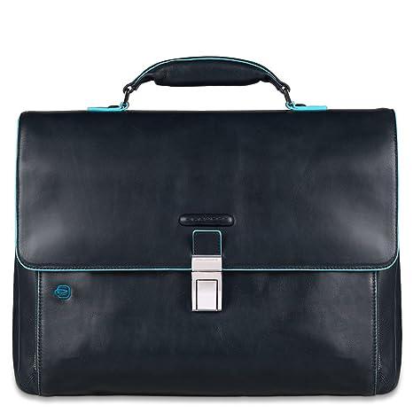d0747255c9 Piquadro Cartella, Collezione Blue Square, 41 cm, Blu: Amazon.it ...