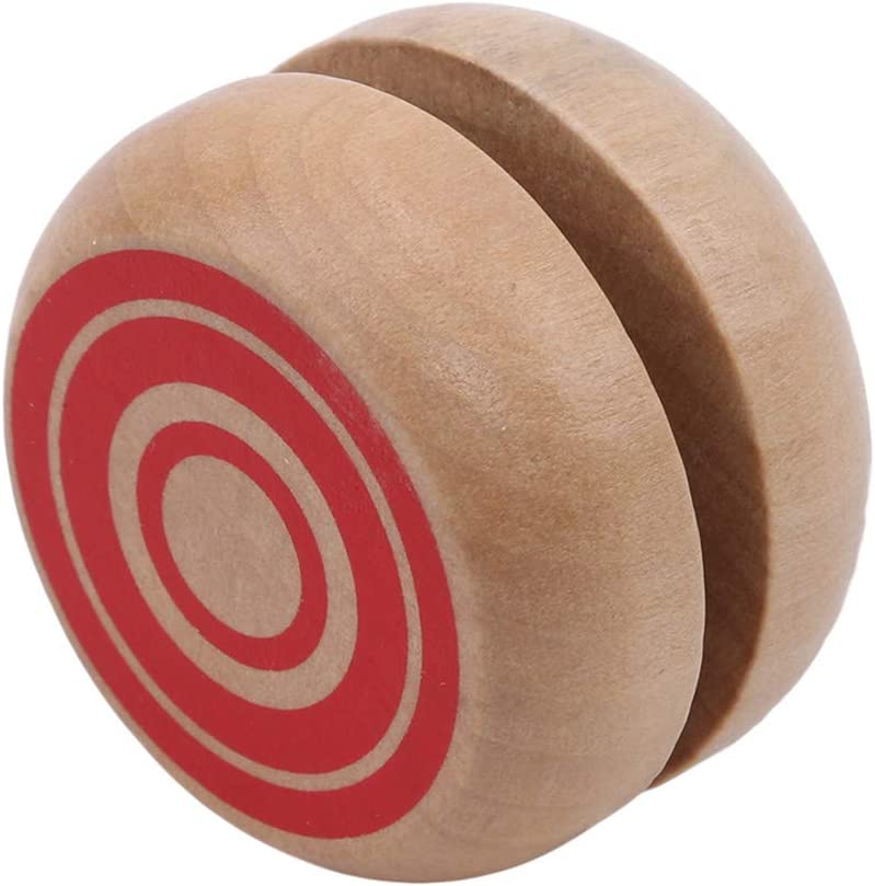 Sperrins Kids Wooden Yoyo Toy Funny Party Wooden Yoyo Ball for Children Light Blue