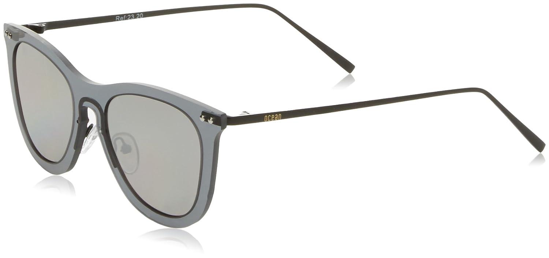 Ocean Eye Gafas de sol, Negro (Nero Trasparente), 58 Unisex ...