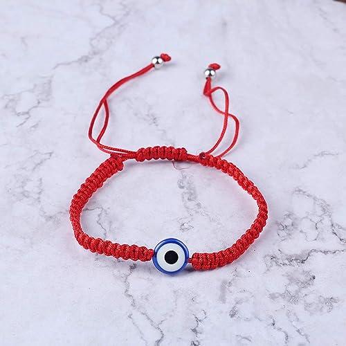 MIsha Turco Mal Ojo protección Kabbalah Pulseras de Hilo Rojo joyería de la Mano de Fátima Pulseras únicas de Moda