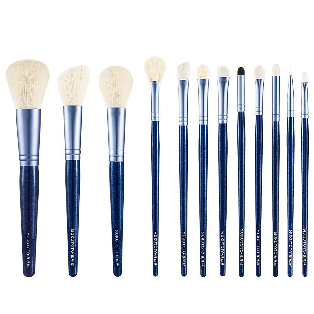 CC-Makeup Brush Custodia in Pelle da 12 Tasche Portatile da Viaggio