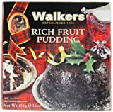 Walkers Shortbread Rich Fruit Pudding, 16 Ounce Box