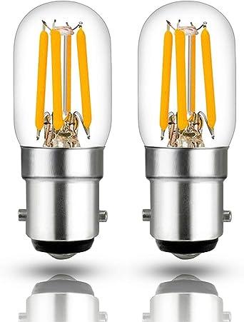 Hizashi 2.5W filamento Pigmeo bombilla LED, Equivalente de 60 ...