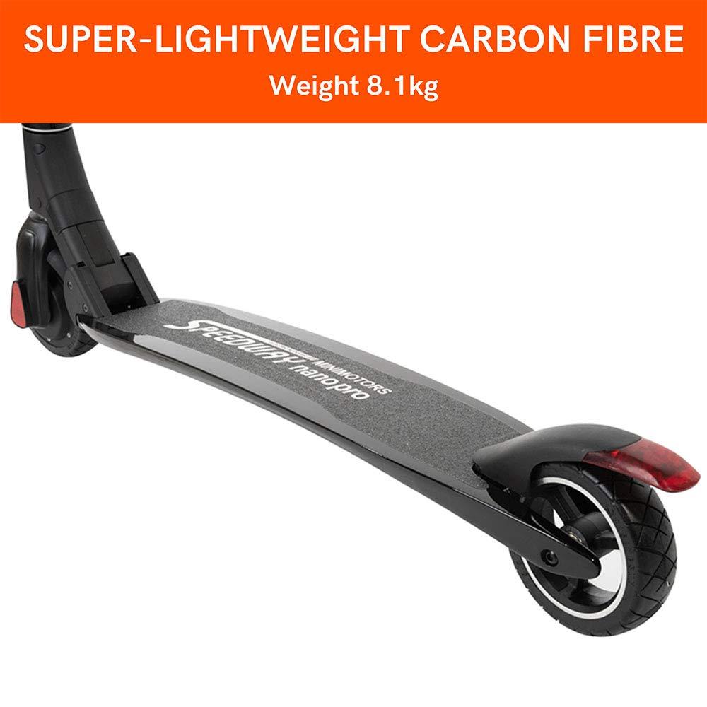 Amazon.com: Speedway Nano Pro - Patinete eléctrico plegable ...