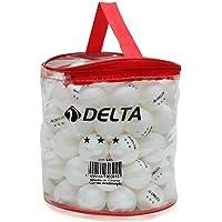 Delta 100'lü Çantalı Masa Tenisi Topu (Pinpon Topu) Pinpon Topu Unisex, Çok Renkli, Tek Beden, S, M, L veya XL