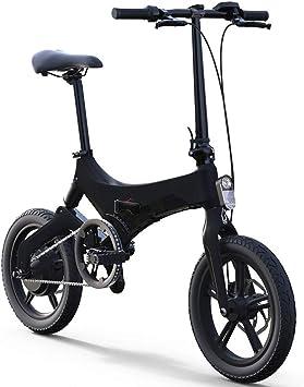 LTLSF Bicicleta Eléctrica Plegable para Mujeres, Bicicleta ...