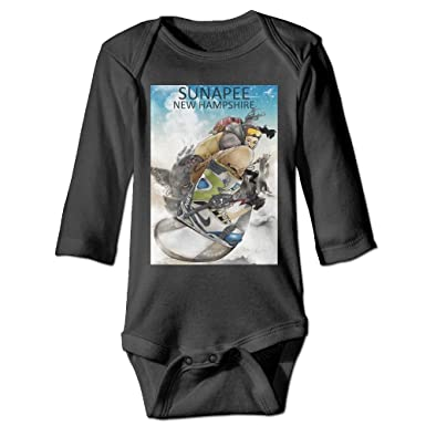 ce37312f86d8 Guw Rompers Colorblocked Skier Toddler Long Sleeve Printed Bodysuits Organic  Cotton Romper Bodysuits