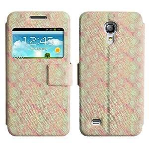 LEOCASE Remolinos lindos Funda Carcasa Cuero Tapa Case Para Samsung Galaxy S4 Mini I9190 No.1002045