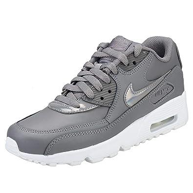 Nike Damen Air Max 90 Ltr (gs) Sneakers Mehrfarbig Gunsmoke