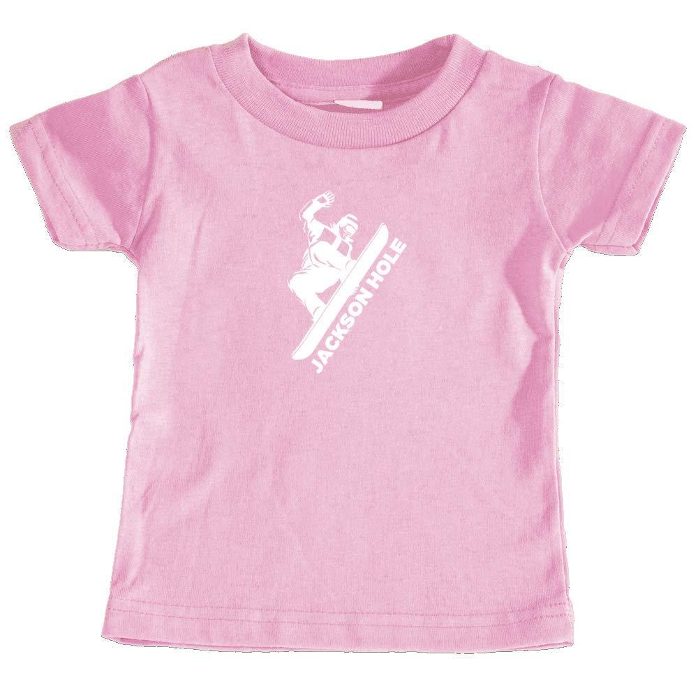 Unisex Infant T-Shirt Jackson Hole Wyoming Snowboarding
