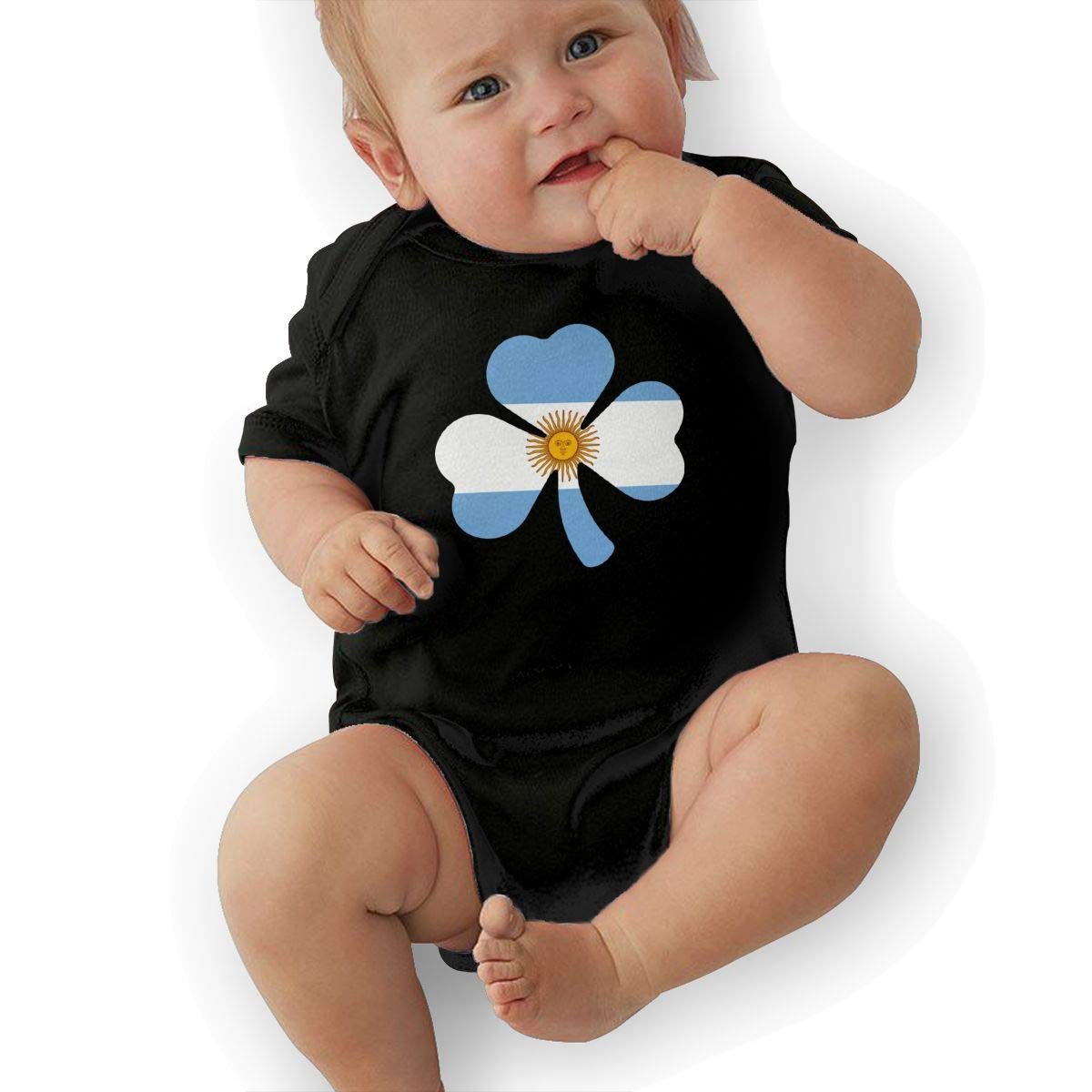 Suit 6-24 Months TAOHJS97 Newborn Argentina Flag Shamrock Short Sleeve Climbing Clothes Pajamas Sleepwear