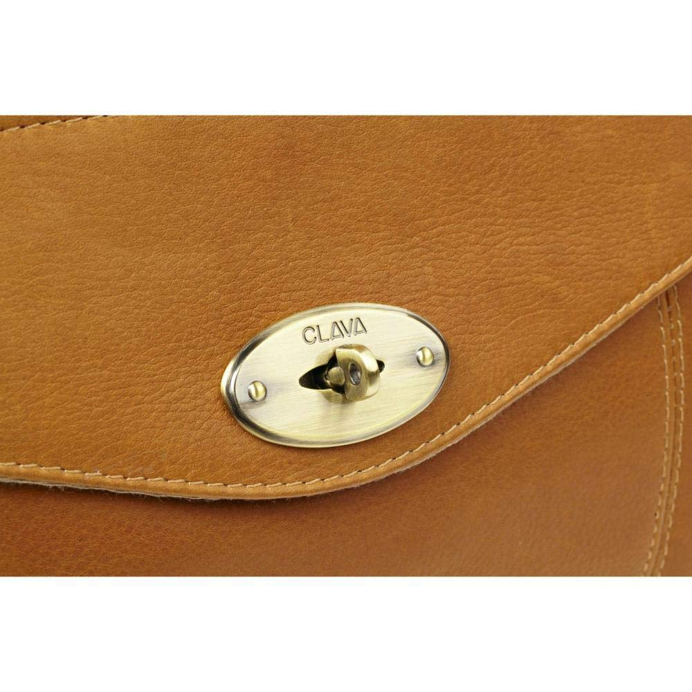 Clava Leather Aviator Turnlock Duffel