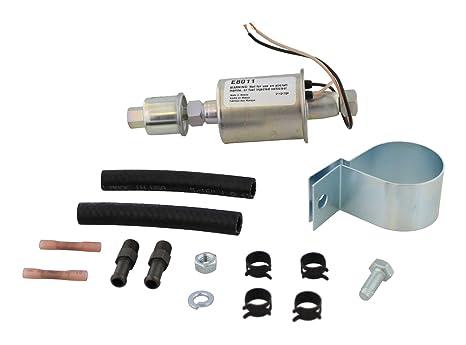 Amazon Airtex E8011 Universal Electric Fuel Pump Automotive. Airtex E8011 Universal Electric Fuel Pump. Wiring. 6 Volt Positive Ground Wiring Diagram Fuel Tank At Scoala.co