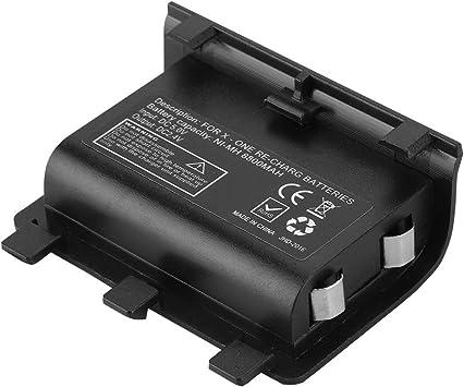 Garsent Xbox One batería Recargable, 8800 mAh batería Externa Recargable de Alta Capacidad Negra con Cable USB para Xbox One.: Amazon.es: Electrónica