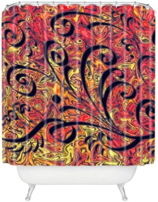 Standard Deny Designs 71 by 74-Inch Lisa Argyropoulos Southwest Nights Shower Curtain