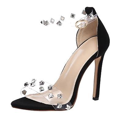 e8b3d512bf2 DIGOOD High Heels Sandals for Women