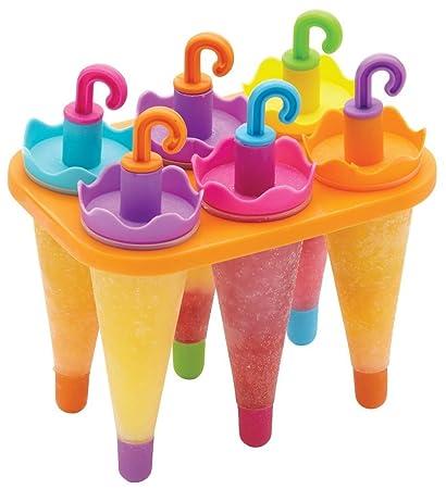 6 Airstomi Color paraguas Frozen Pop de helado con forma de diseño de oveja y caracol