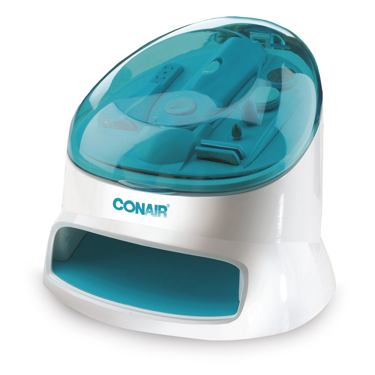 Conair The Complete Nail Care Center, White Blue 1-Count