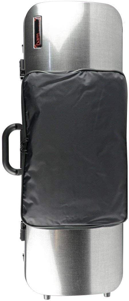 Bam Hightech Compact Size Oblong Viola Case with Pocket 5202XL Anise