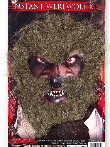 Hair Patch Facial (Instant Werewolf Facial Hair)
