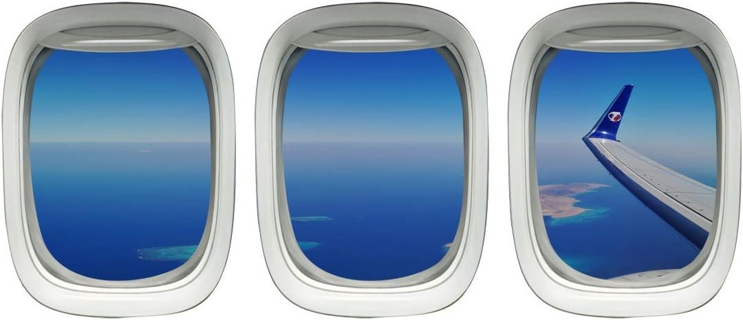 Amazon Com Aviation Window Decal Airplane Wing Stickers Plane