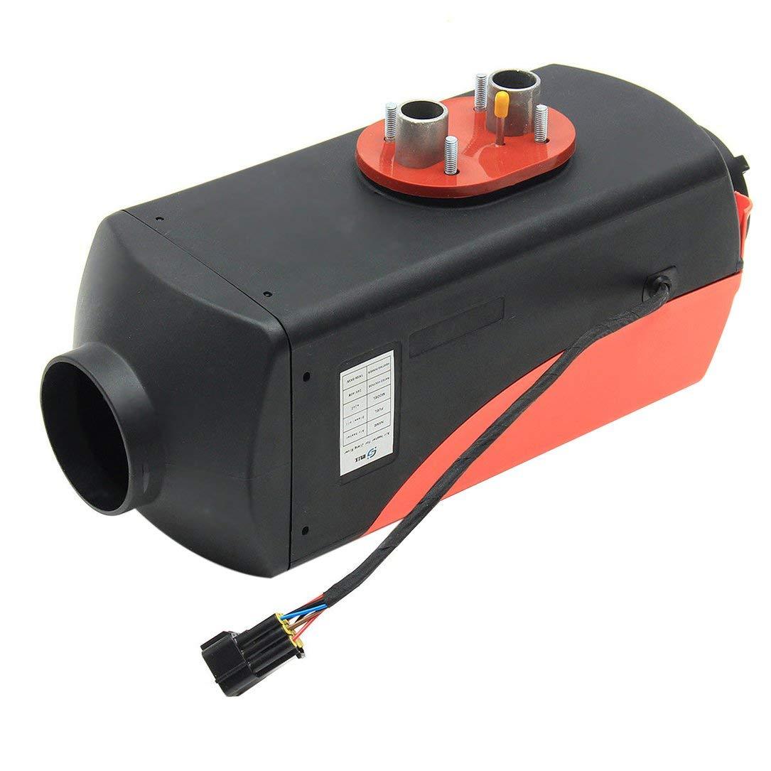 Aire Aparcamiento Calentador planar, Emisiones Duradero Negro 12V 5000W Coche Calentador Calentador Bajo Bajo Consumo de Combustible, para Camiones Motor ...