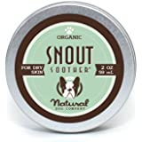 SNOUT SOOTHER Natural Dog Company - Dry Chapped Cracked and Crusty Dog Nose Remedy for Dry Dog Noses 2 OZ
