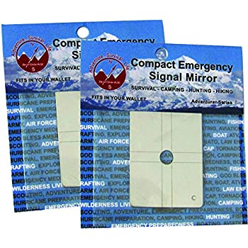 Best Glide ASE Compact Emergency Signal Mirror (2 pack)
