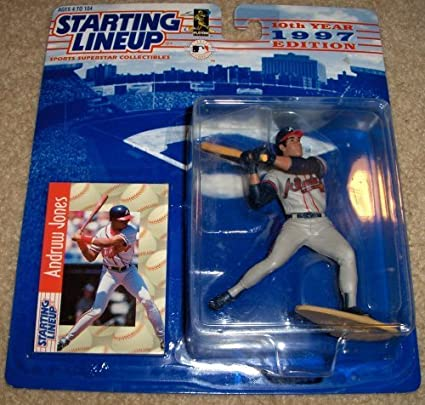 1997 Andruw Jones MLB Starting Lineup Figure