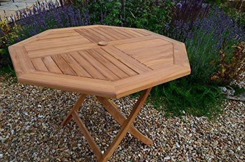 table octogonale de jardin trendy bentley garden table de jardin octogonale pliable bois dur. Black Bedroom Furniture Sets. Home Design Ideas