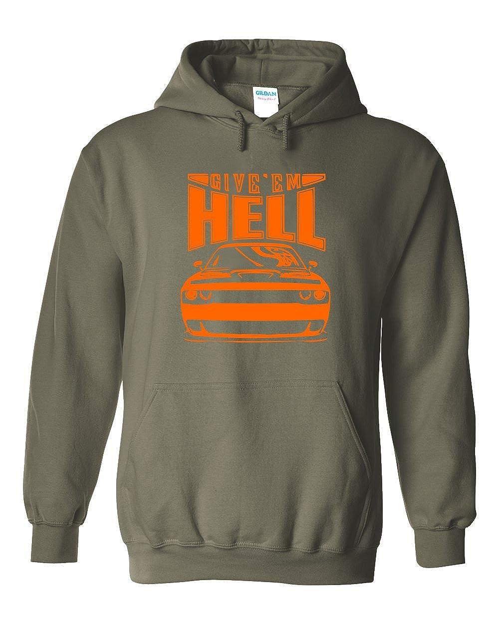 Give Em Hell Womens Hoodie