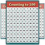 large 100 chart - counting to 100 numbers one hundred chart LAMINATED teaching poster SIZE LARGE educators students HUGE 24x30
