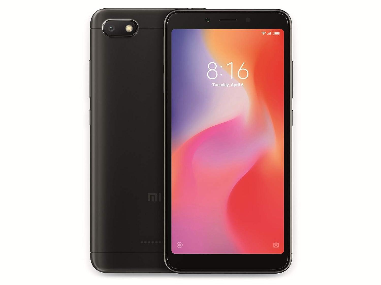 Xiaomi Redmi 6A Smartphone Dual SIM, 32GB, 2GB RAM, Negro [versión importada]