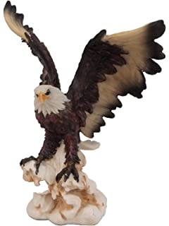 Adler Figur Tierfigur Haus Garten Dekoration