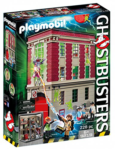 Playmobil Ghostbusters Firehouse]()