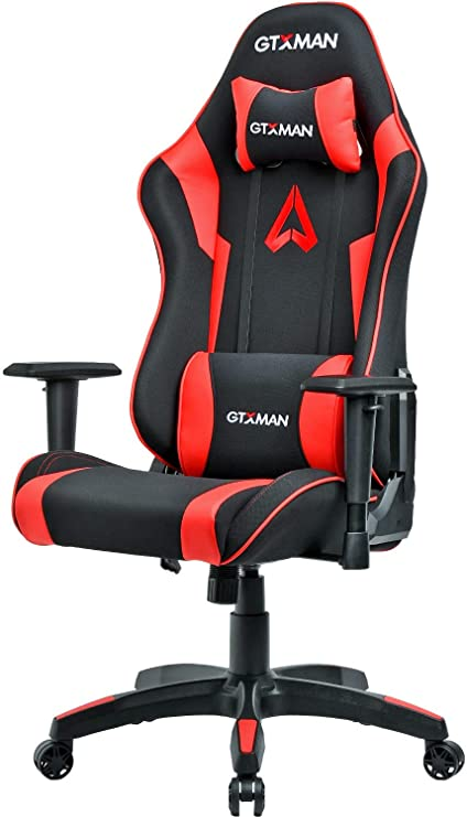 Admirable Gtxman Gaming Chair Racing Style Office Chair Video Game Chair Breathable Mesh Chair Ergonomic Heavy Duty 350Lbs Esports Chair X 005 Red Pdpeps Interior Chair Design Pdpepsorg