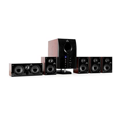 283a4e70471 auna Areal 525 WD Sistema Sonido Envolvente 5.1 • Home Cinema  Surround &