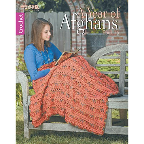 Afghan Crochet Garden - A Year of Afghans Book 16 | Crochet | Leisure Arts (6863)