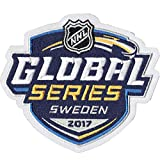 2017 Official NHL Global Series Jersey Patch Ottawa Senators Colorado Avalanche Sweden