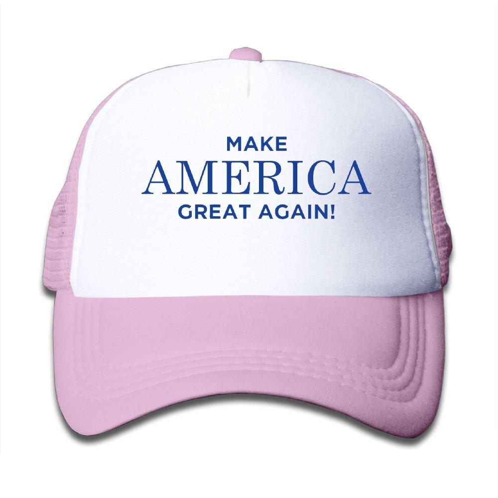 DNUPUP Kid's MAGA Make America Great Again Adjustable Casual Cool Baseball Cap Mesh Hat Trucker Caps