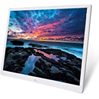 Gaowi 20 Inch TFT Screen HD LED Backlight 1024 * 768 Digital Photo Frame Electronic Album Picture Music Ultra-Thin Widescreen Full Format