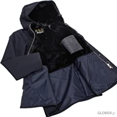 Hooded Bedale SL MCA0387: Navy