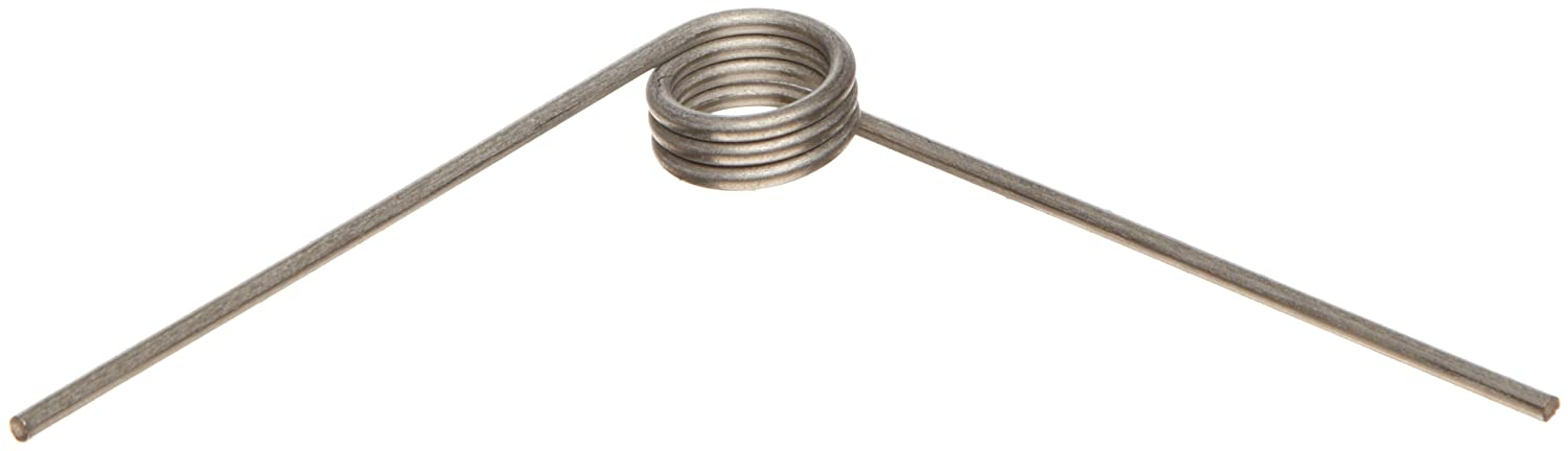 302 Stainless Steel Torsion Spring, Right Hand Wind Direction, 90 ...