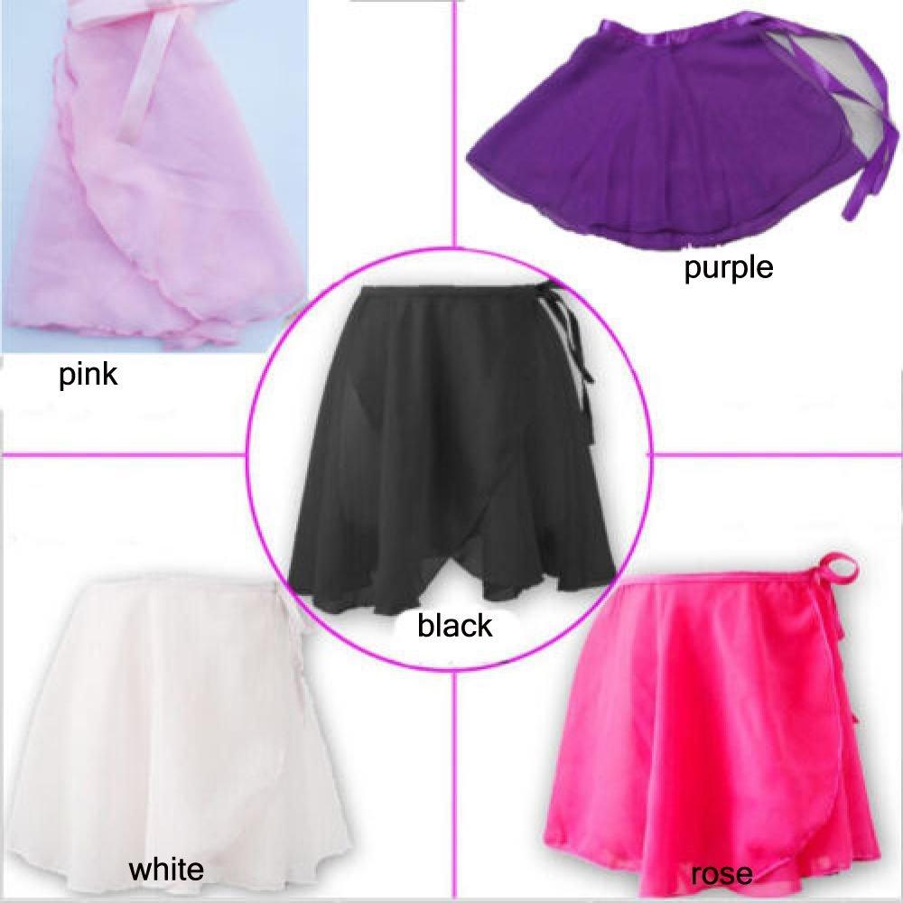 Xinnyuan Colorful Kids Children Wrap Skirt Tutu Chiffon Dress Dance