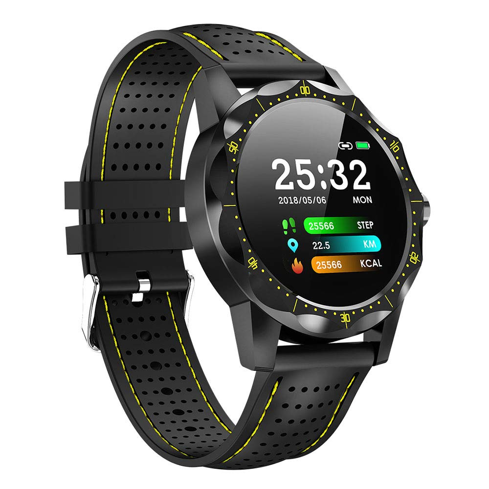 Amazon.com: COLMI Sky 1 Smart Watch IP68 Waterproof Heart Rate ...
