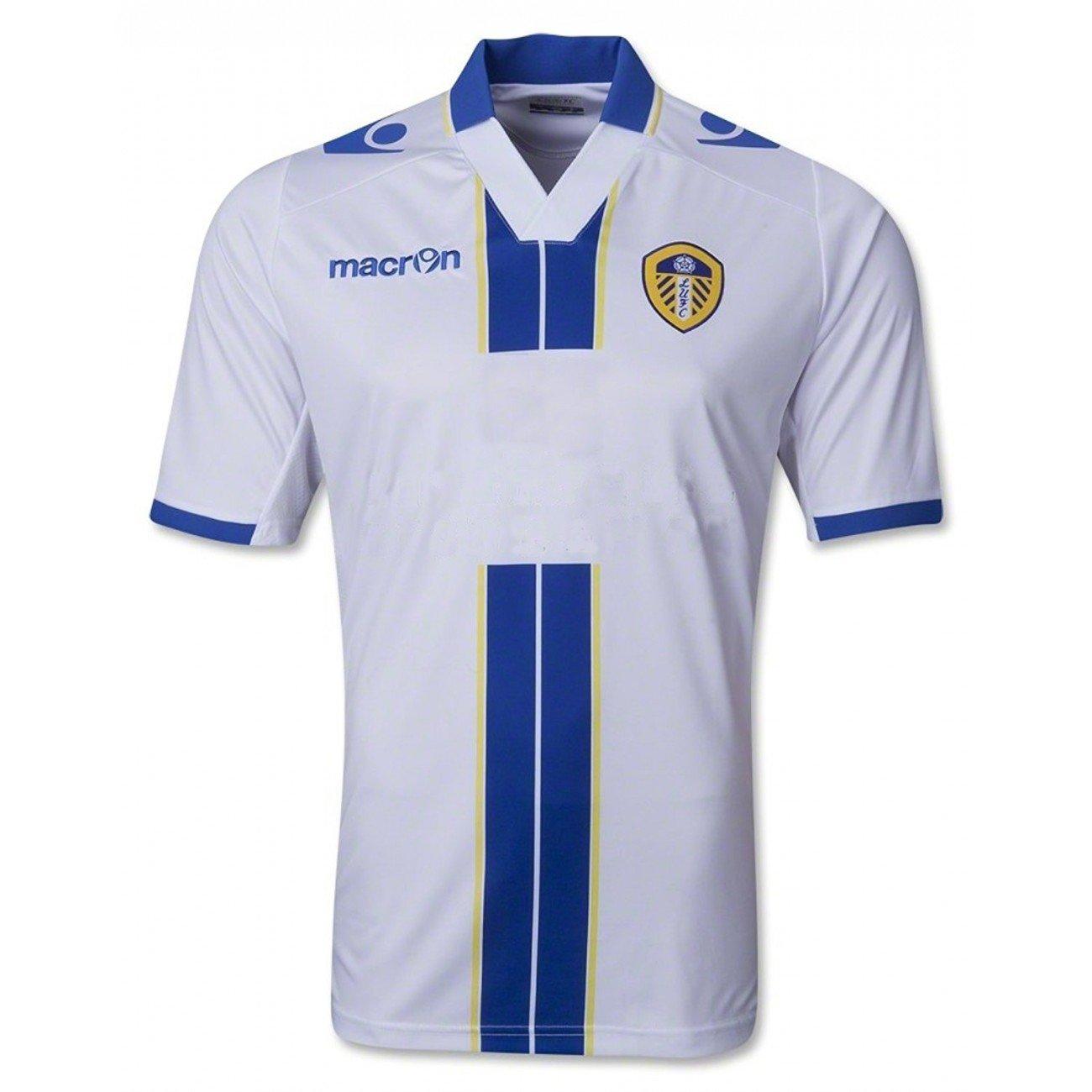 Leeds United trikot home 2013 14 Macron - 05 - M, Weiß