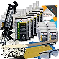 Concrete Foundation Crack Repair Kit - Mid-Range Viscosity Polyurethane - FLEXKIT-1100-60